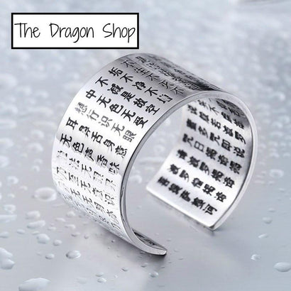 SAMURAI CODE Stainless Steel Ring - The Dragon Shop - Geek Culture