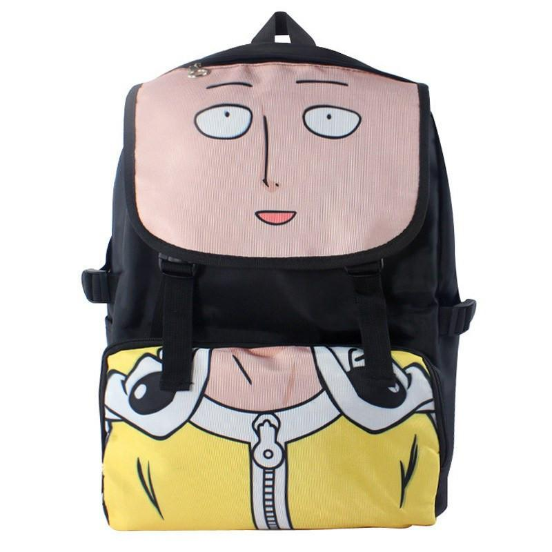 One Punch Man Laptop Backpack - The Dragon Shop - Geek Culture