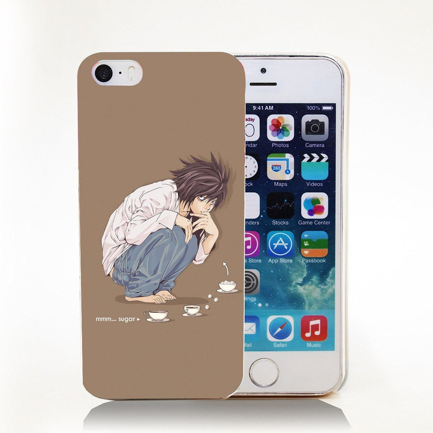 Death Note L iPhone Case - The Dragon Shop - Geek Culture