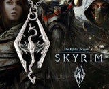Skyrim Dragonborn Steel Necklace - Muse Raven - Dream Out Loud