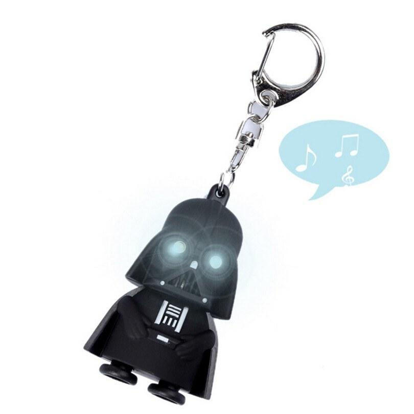 Star Wars Darth Vader LED & Sound Keychain - The Dragon Shop - Geek Culture
