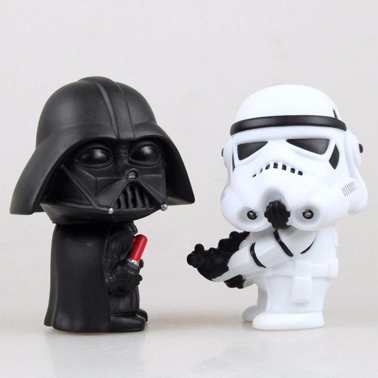Star Wars Darth Vader & Stormtrooper Action Figures