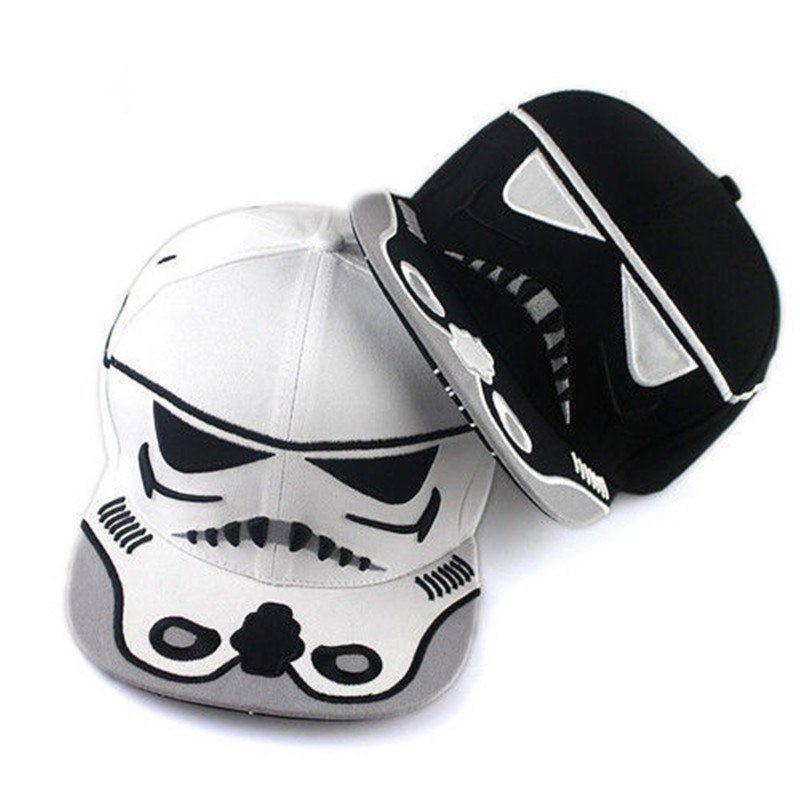 Star Wars Stormtrooper Snapback Cap - The Dragon Shop - Geek Culture