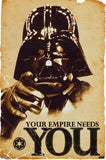 Star Wars Your Empire Needs You Poster - Muse Raven - Dream Out Loud