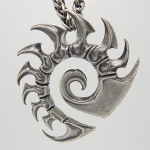 Starcraft Zerg Steel Necklace - The Dragon Shop - Geek Culture