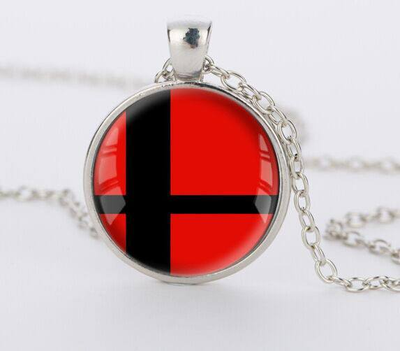SUPER SMASH Steel Necklace - The Dragon Shop - Geek Culture