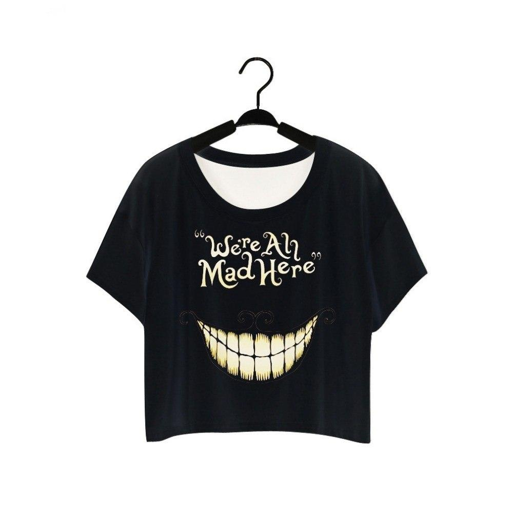 We're All Mad Here Top - The Dragon Shop - Geek Culture