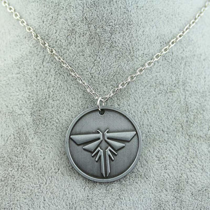 The Last of Us Steel Necklace - The Dragon Shop - Geek Culture