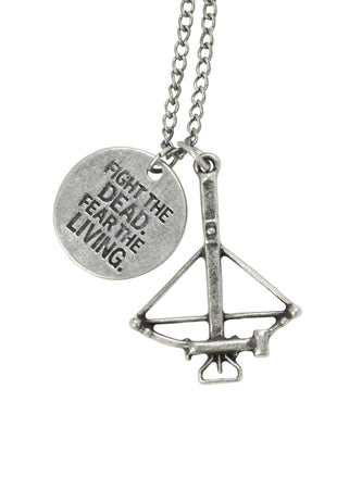 Walking Dead Crossbow Necklace - The Dragon Shop - Geek Culture