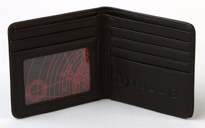 Diablo III Leather Wallet - The Dragon Shop - Geek Culture