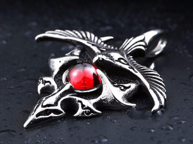 VELOCITY Stainless Steel Necklace - The Dragon Shop - Geek Culture