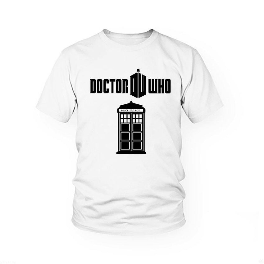 Dr. Who Classic T-Shirt - The Dragon Shop - Geek Culture