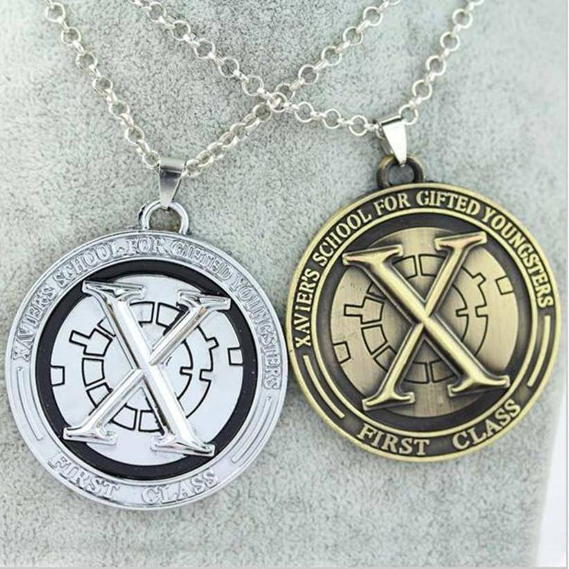 X-Men First Class Steel Necklace - Muse Raven - Dream Out Loud