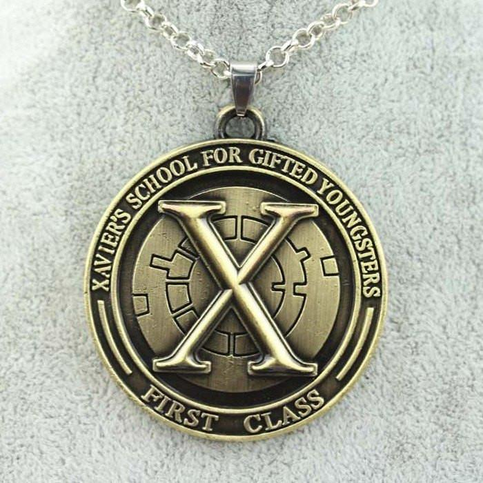 X-Men First Class Steel Necklace