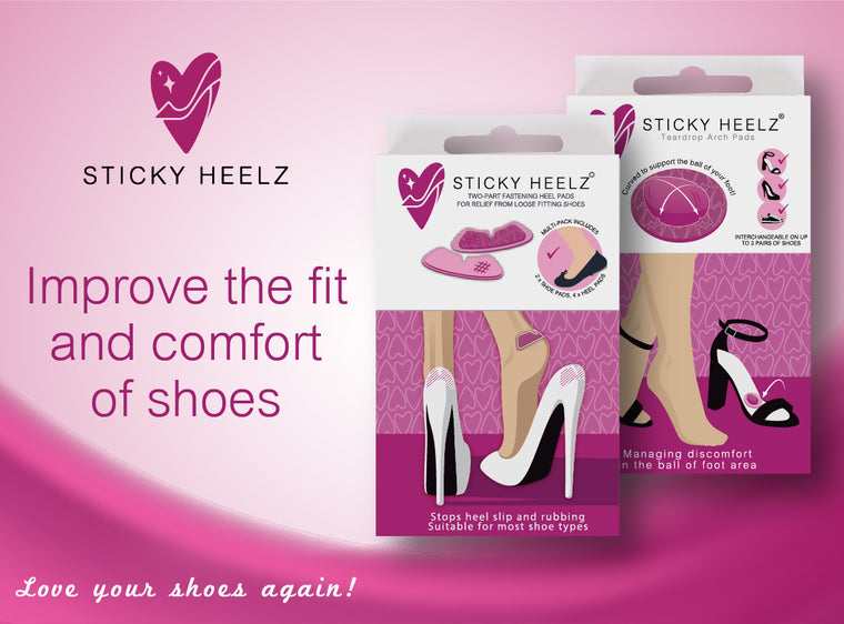 Buy Sticky Heelz Combo of Heel Pads and Teardrop for £9.99 and get FREE P&P (UK only)