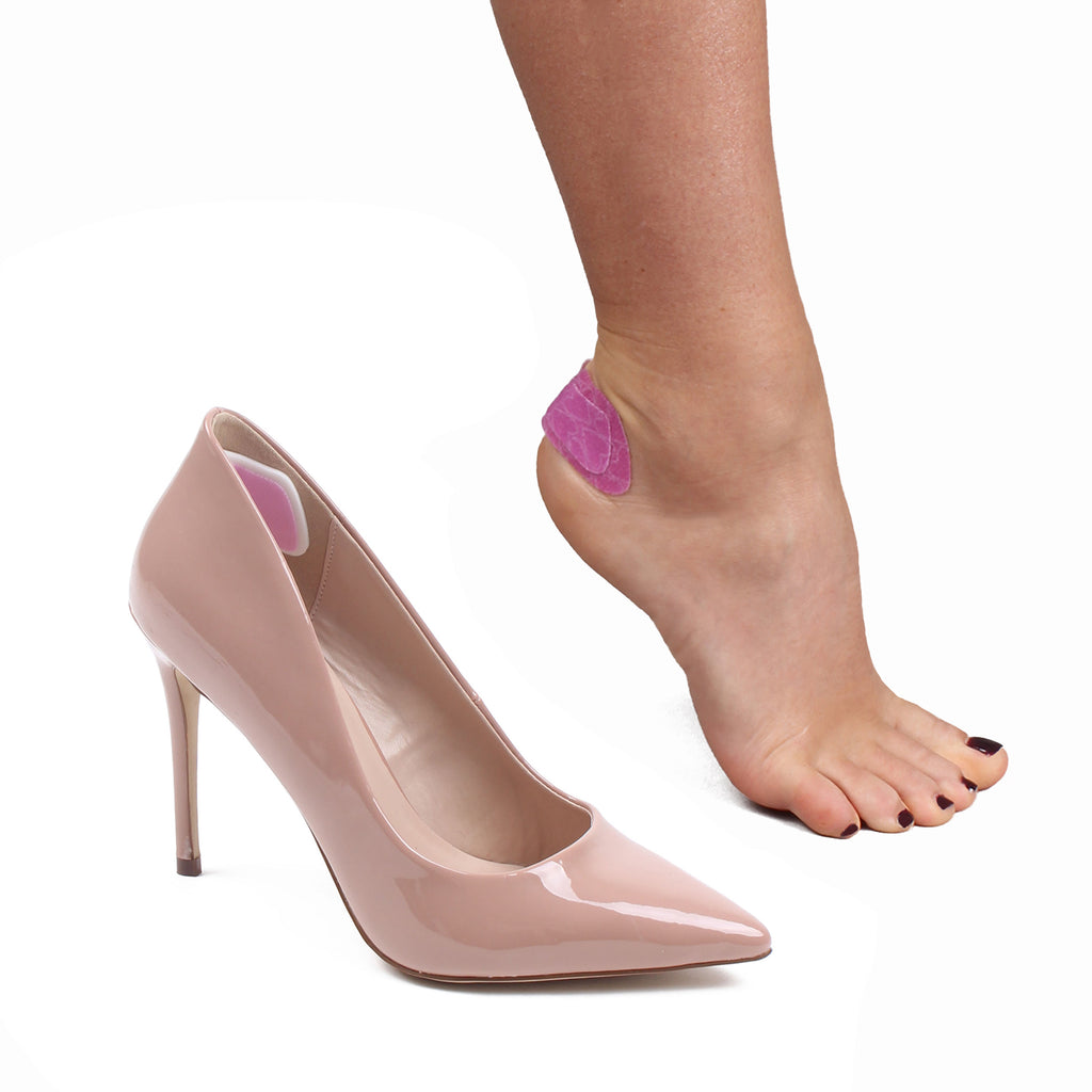 3 Standard Packs of Sticky Heelz Anti Slip Heel Pads