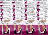 Wedding Favours - Box of 20 Sticky Heelz