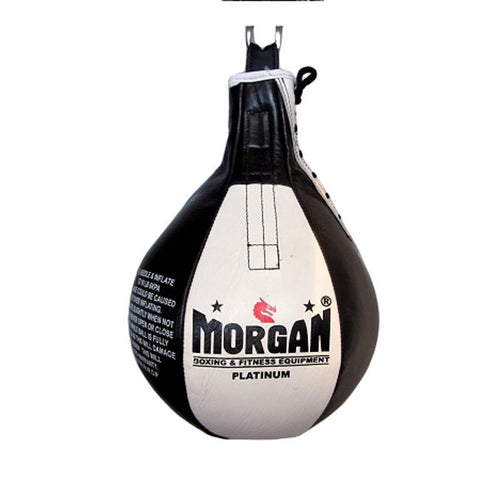 Morgan Platinum Leather 12 Inch Speed Ball