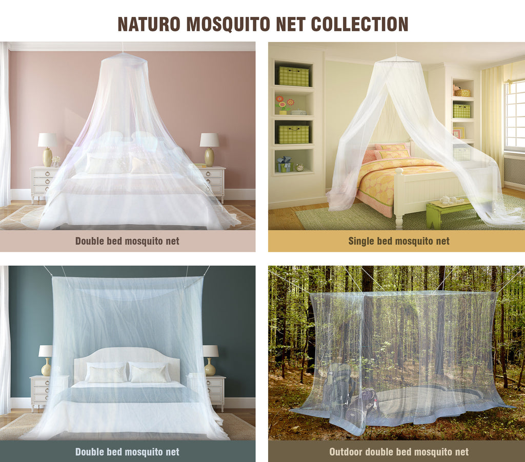 ... Outdoor Mosquito Net for Double Bed Canopy ...  sc 1 st  Naturo & Outdoor Mosquito Net for Double Bed Canopy u2013 Naturo