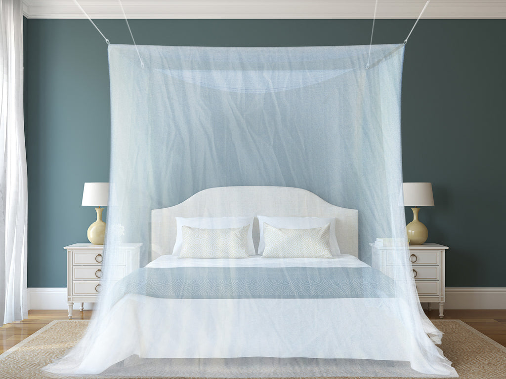 Mosquito Double Bed Net Canopy – Naturo