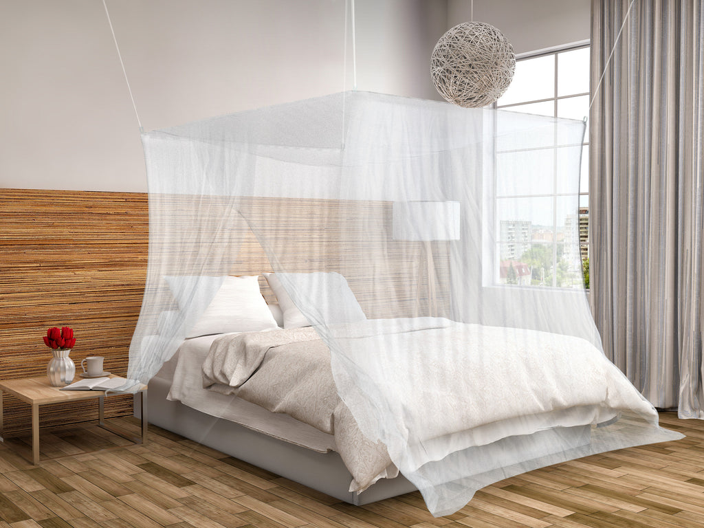 ... Mosquito Double Bed Net Canopy ...