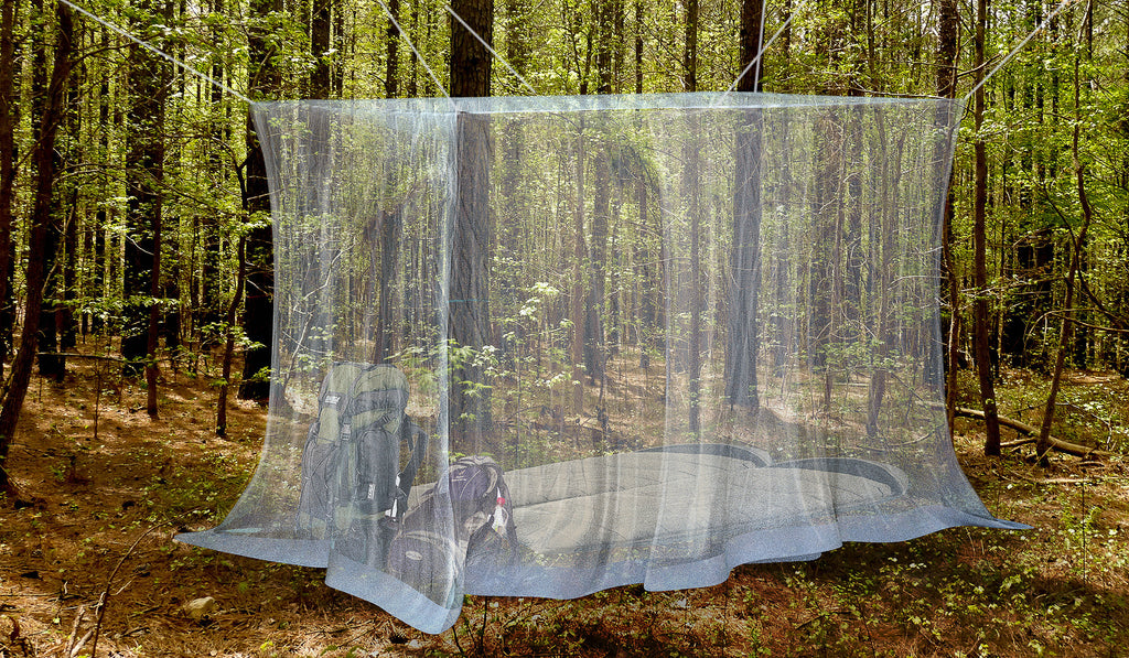 Outdoor Mosquito Net For Double Bed Canopy Naturo