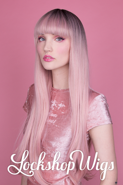 Natural Straight Milky Pink