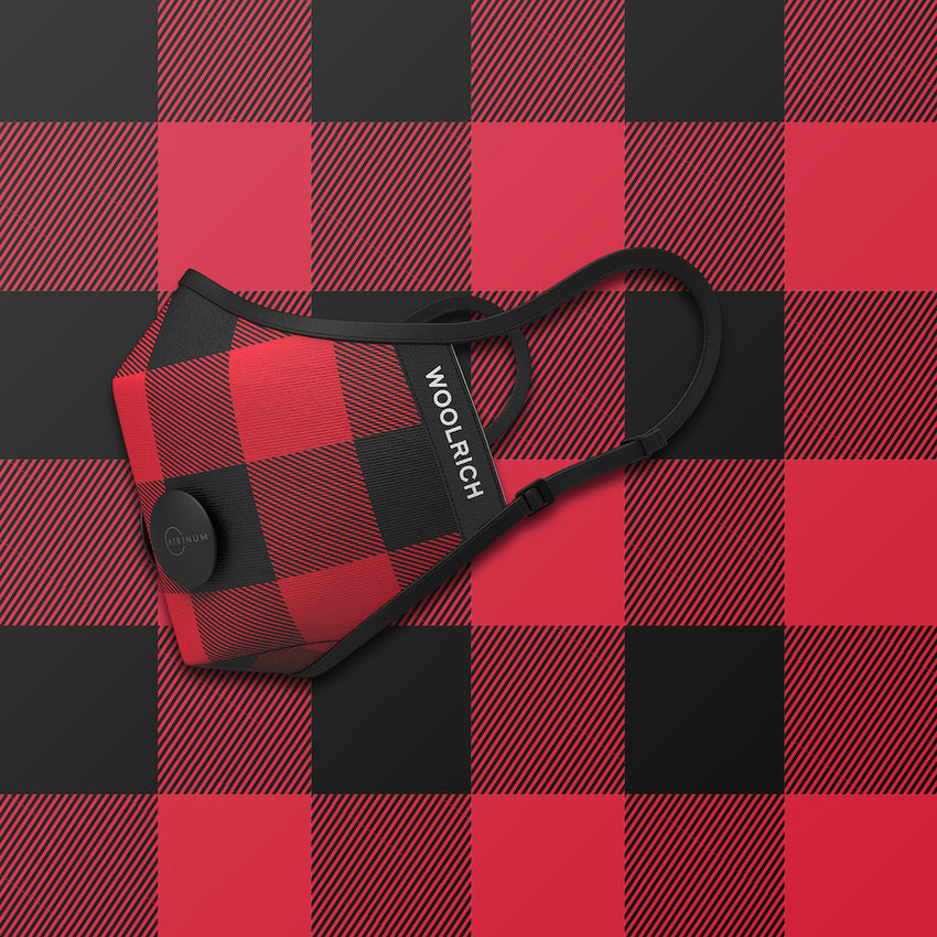 header-only Woolrich - Buffalo Red & Black