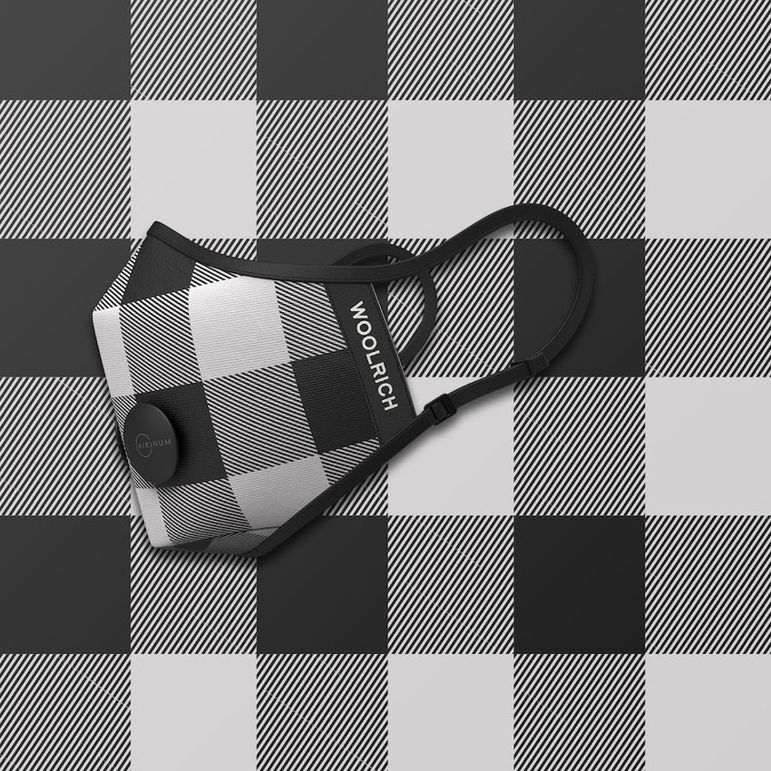 header-only Woolrich - Buffalo White & Black