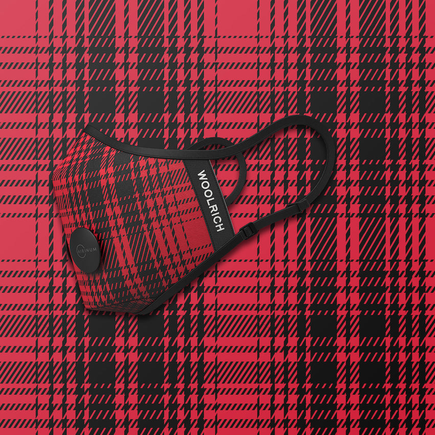 header-only Woolrich - Hunting Red & Black
