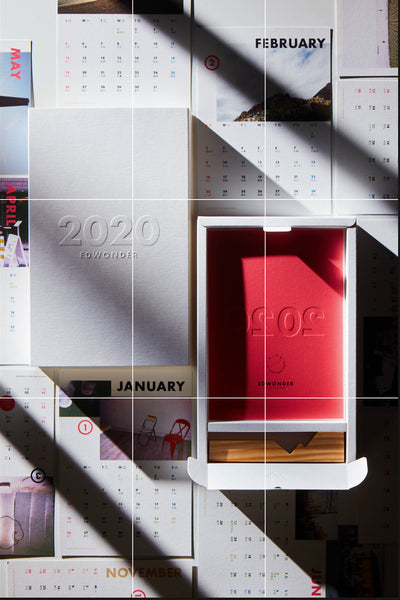 EdW x EP Studio - 2020 Photo-Journal Calendar
