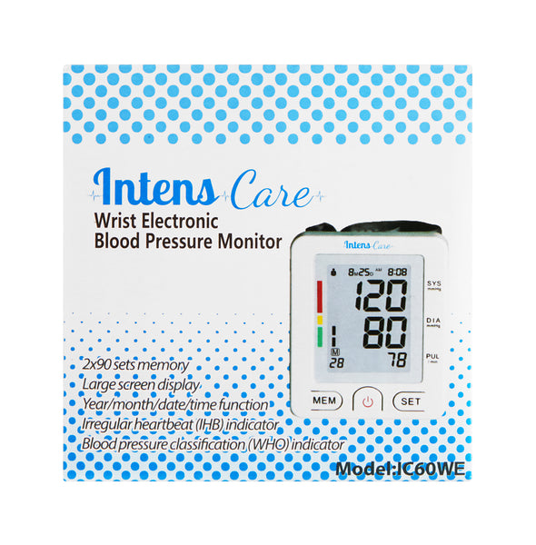 IntensCare Blood Pressure Monitor Wrist