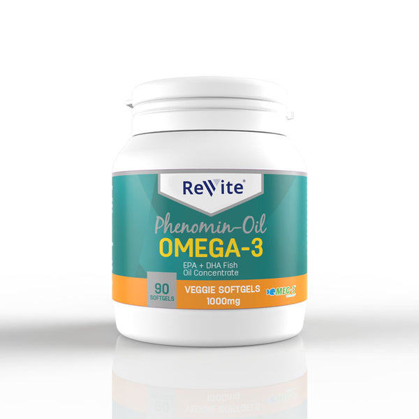 Veggie Caps Omega-3 Fish Oil 1000mg (90's)