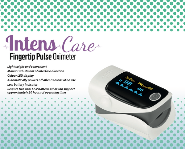IntensCare Fingertip Pulse Oximeter