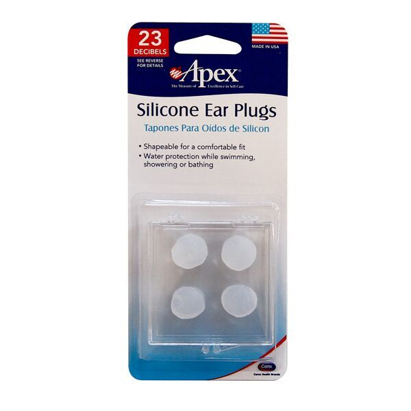 Apex Soft Silicone Ear Plugs