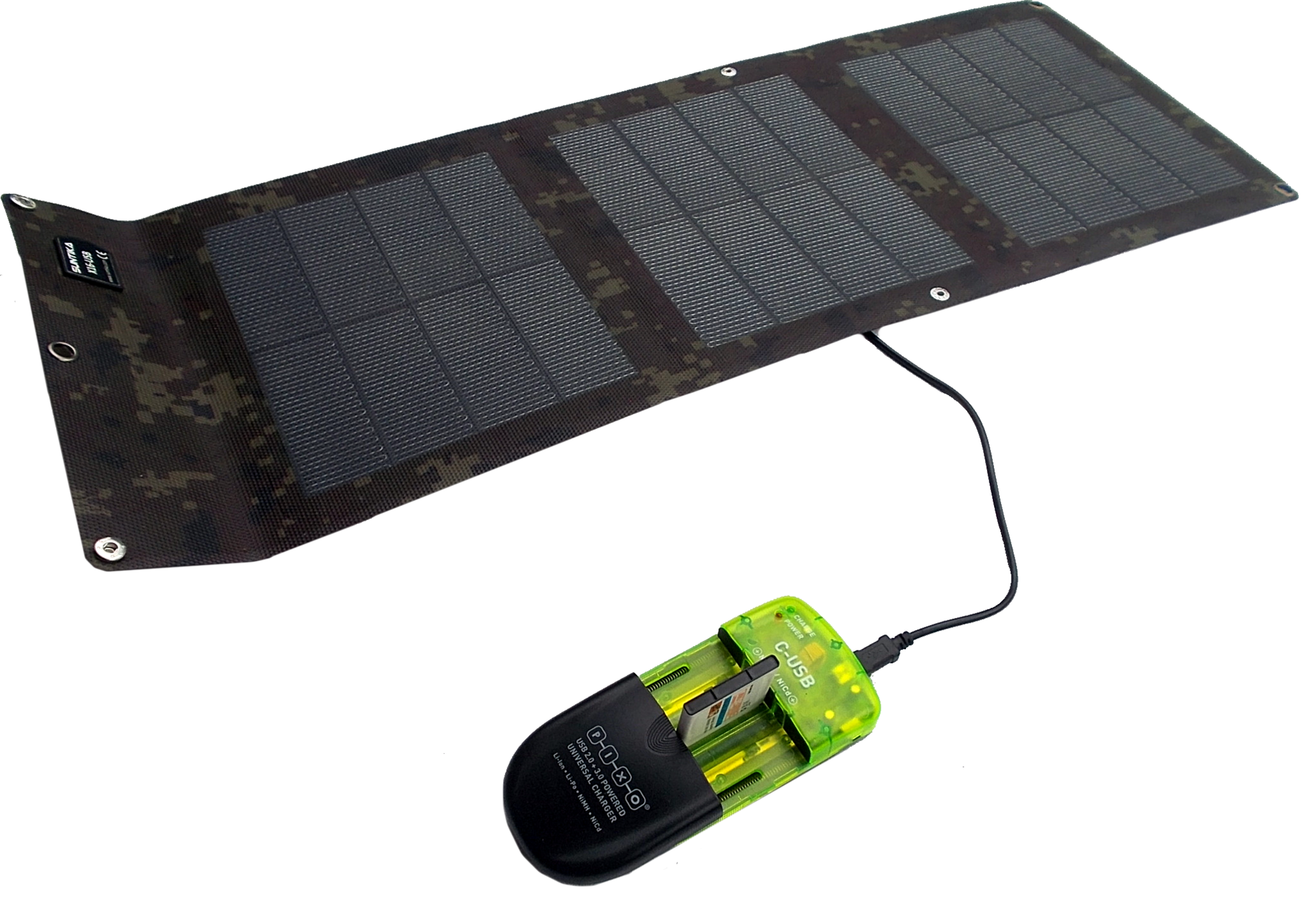chargeur solaire 1 5v