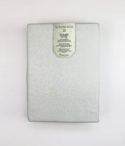 Oxford Gris funda nórdica