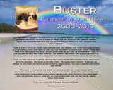 Rainbow Bridge Pet Memorials, Dog Memorial, Cat Memorial, Personalized Memorial Gifts 8 x 10 Print