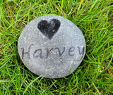 Pet Memorial Gifts, Custom Pet Memorial Stone, Pet Memorials, Grave Marker 3-4 Inch