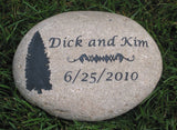 Oathing Stone for Irish Celtic or Scottish Wedding, 9 - 10 Inch Wedding Stone