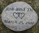 Wedding Oathing Stone, Oath Stone, Irish, Celtic Wedding Stone 8-9 Inch