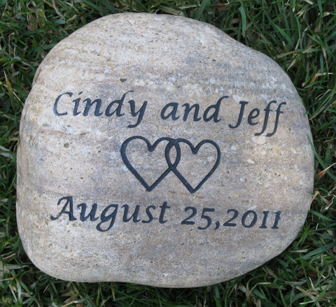 Personalized Oathing Stone 10-11 Inch