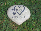 Pet Stone Memorial  9-10 Inch - MainlineEngraving.Com