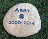 Pet Memorial Stone, Burial Stone Maker 7-8 Inches