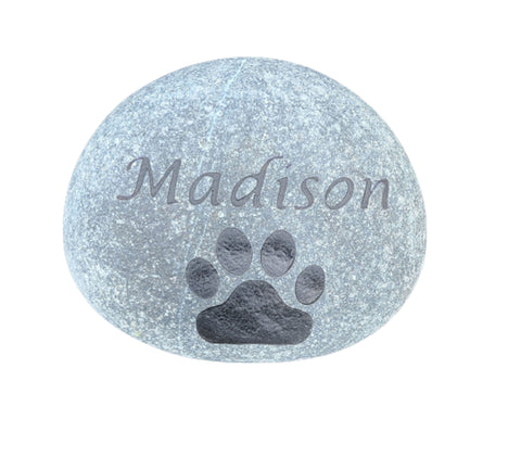 Custom Pet Stone, Gravestone, Memorial Headstone, Grave Marker 6-7 Inch - Mainline Designs