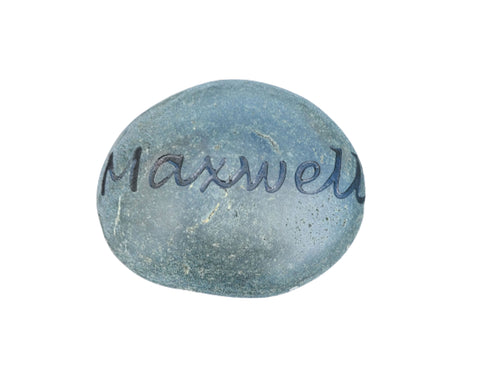 Pet Memorial Stone Rock 3-4 Inches