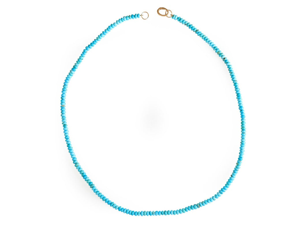 Mexican Turquoise Beaded Necklace