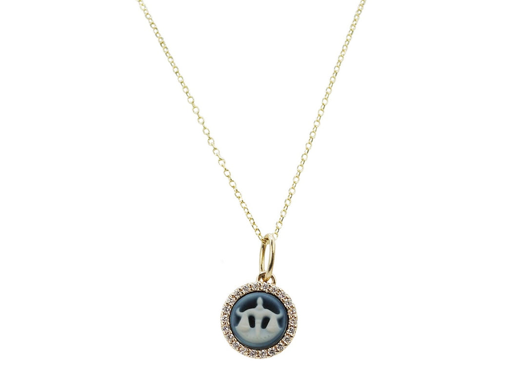 Libra Cameo Necklace