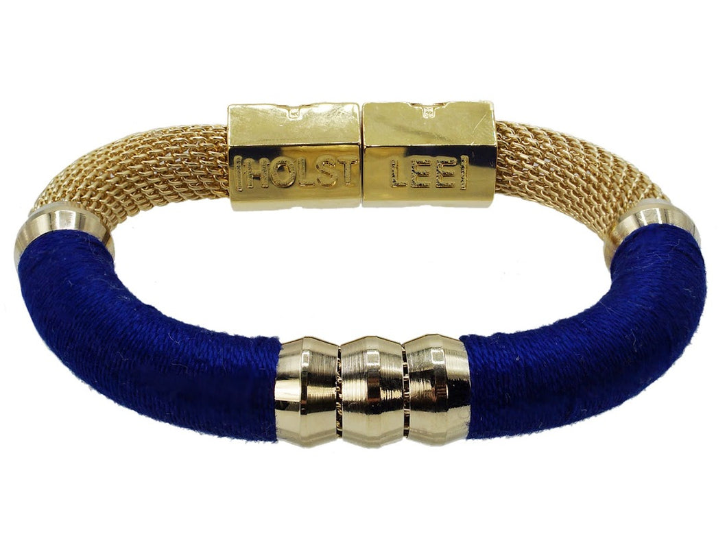 Royal Blue Mesh Bracelet