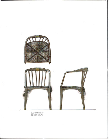 SoHo Wicker Chair